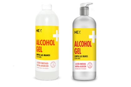alcohol en gel nex
